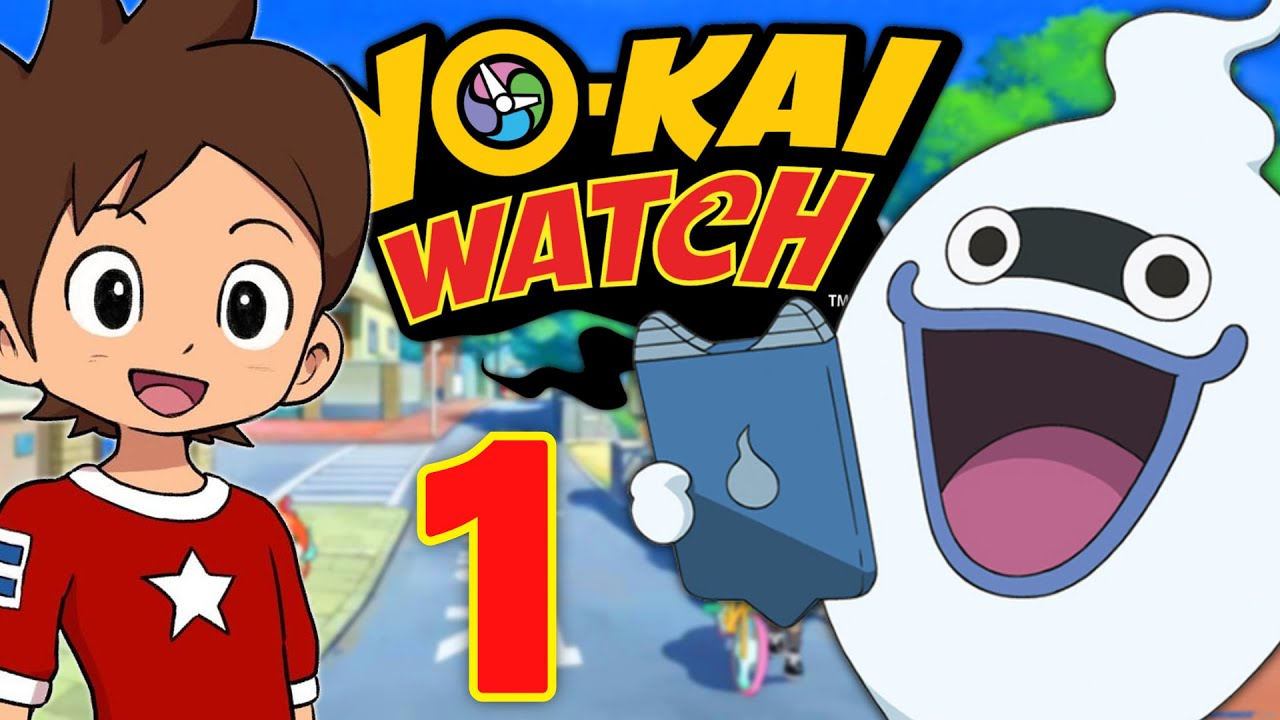 Yo kai watch fr 3ds episode 1 en fran ais youtube for Decoration yo kai watch