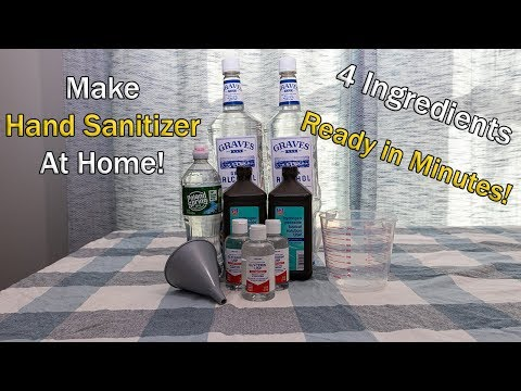 [377] Simple DIY | Nurse Teaches You How To Make Hand Sanitizer At Home THE RIGHT WAY!