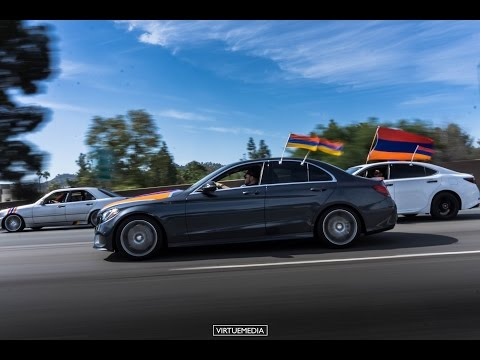 Armenian Genocide 101 Years Carmeet/March To Hollywood