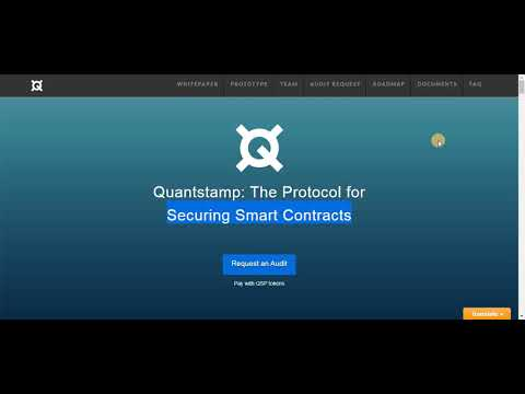What Is QuantStamp (QSP) ? How to Buy ? Basic Of Smart Contract (Hindi / Urdu)