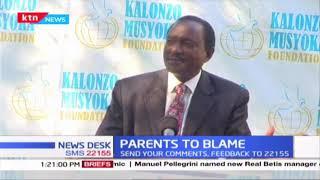 Kalonzo Musyoka: Parents to blame for the rise in teenage pregnancies