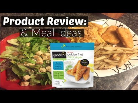 💭🍴Gardein Fishless Filets Product Review & Meal Idea (Vegan Friendly)💛🌿