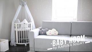 видео Дизайн комнаты для новорожденной девочки (Фото)