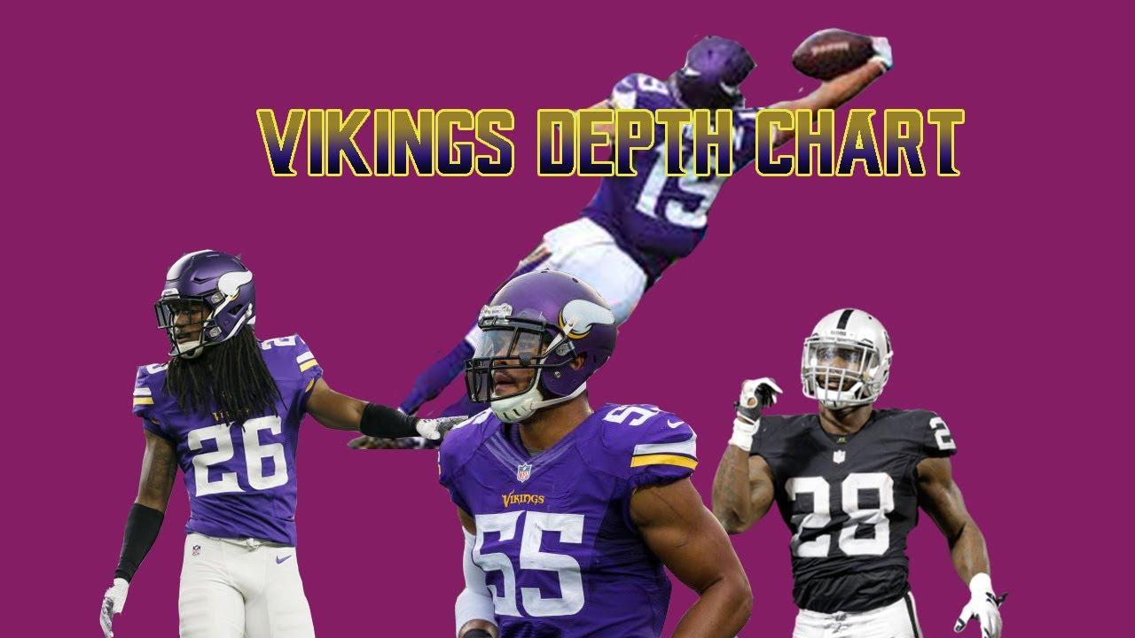 Predicting The 2017 Vikings Depth Chart 53 Man Roster