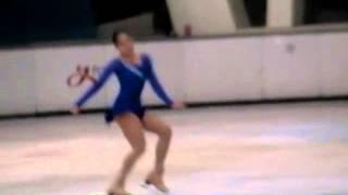 女子青年精英組花樣滑冰短節目   劉容若 20131003