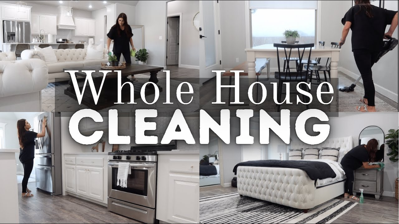 ULTIMATE WHOLE HOUSE CLEANING 2021   *NEW* WHOLE HOUSE CLEAN WITH ME   EXTREME CLEANING MOTIVATION