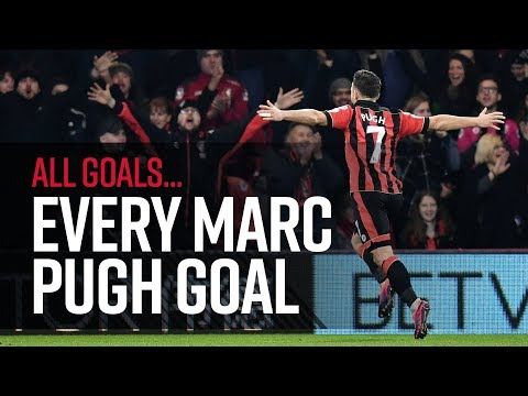 🎯 All of Marc Pugh's AFC Bournemouth goals! 🙌😎