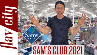 What To Buy At Sam's Club In 2021  Shop With Me