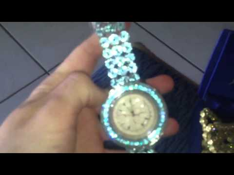 Iced out diamond breitling watch $350 each