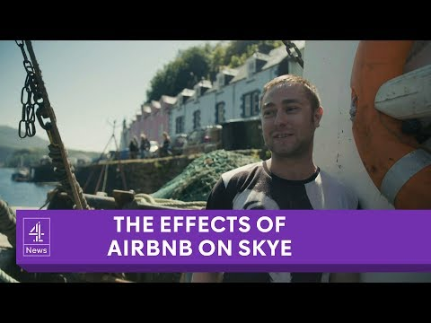 How Airbnb rentals are affecting Isle of Skye