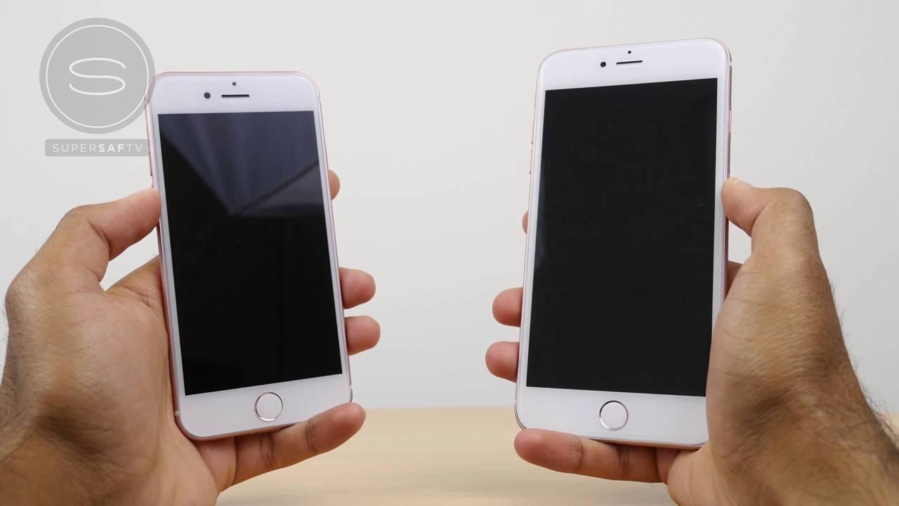 iPhone 7 vs 7 Plus Unboxing Prototype - YouTube