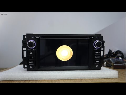 Belsee Unboxing Review Android 8.0 Car DVD Player Jeep Wrangler Cherokee Dodge Caliber Chrysler