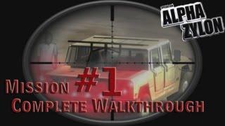 Operation: Alpha Zylon PC/Steam Walkthrough Mission 1