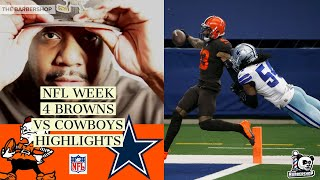 NFL Week 4 |  Cleveland Browns vs. Dallas Cowboys Highlights