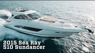 2015 Sea Ray 510 Sundancer Boat For Sale at MarineMax Naples
