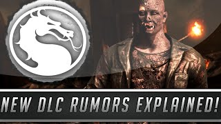 Mortal Kombat X: Rumored Kombat Pack #2 DLC Characters Explained & DEBUNKED! (Mortal Kombat 10)