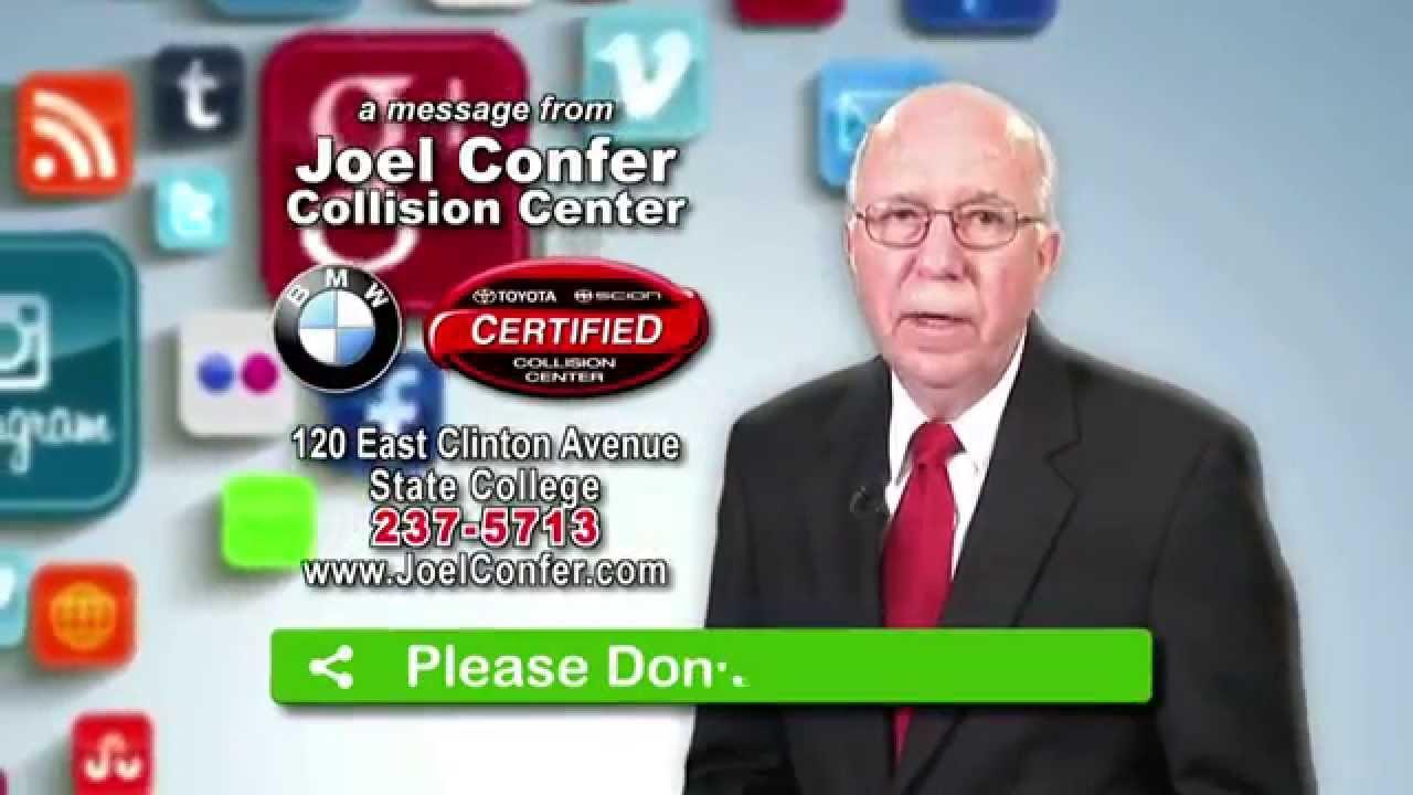 Joel Confer Toyota >> Joel Confer Collision Center Funeral Train Don T Text Drive