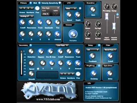 Avalon Vsti V1 Free Vst Synth Guapitamusic Webs