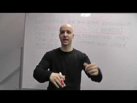 1. Definice ekonomie (videa ke knize Mikro2)