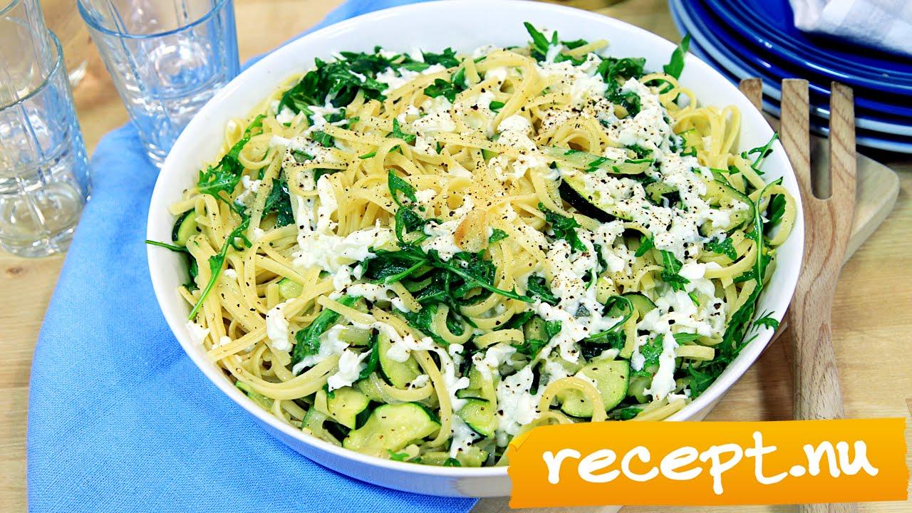 vegetarisk pastagratäng recept