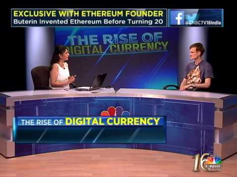 CNBC-TV18 Exclusive With Ethereum Creator (Part 2)