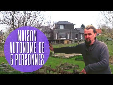 #75 Visite d'une maison autoconstruite et autonome de 5 personnes dans les Hauts de France