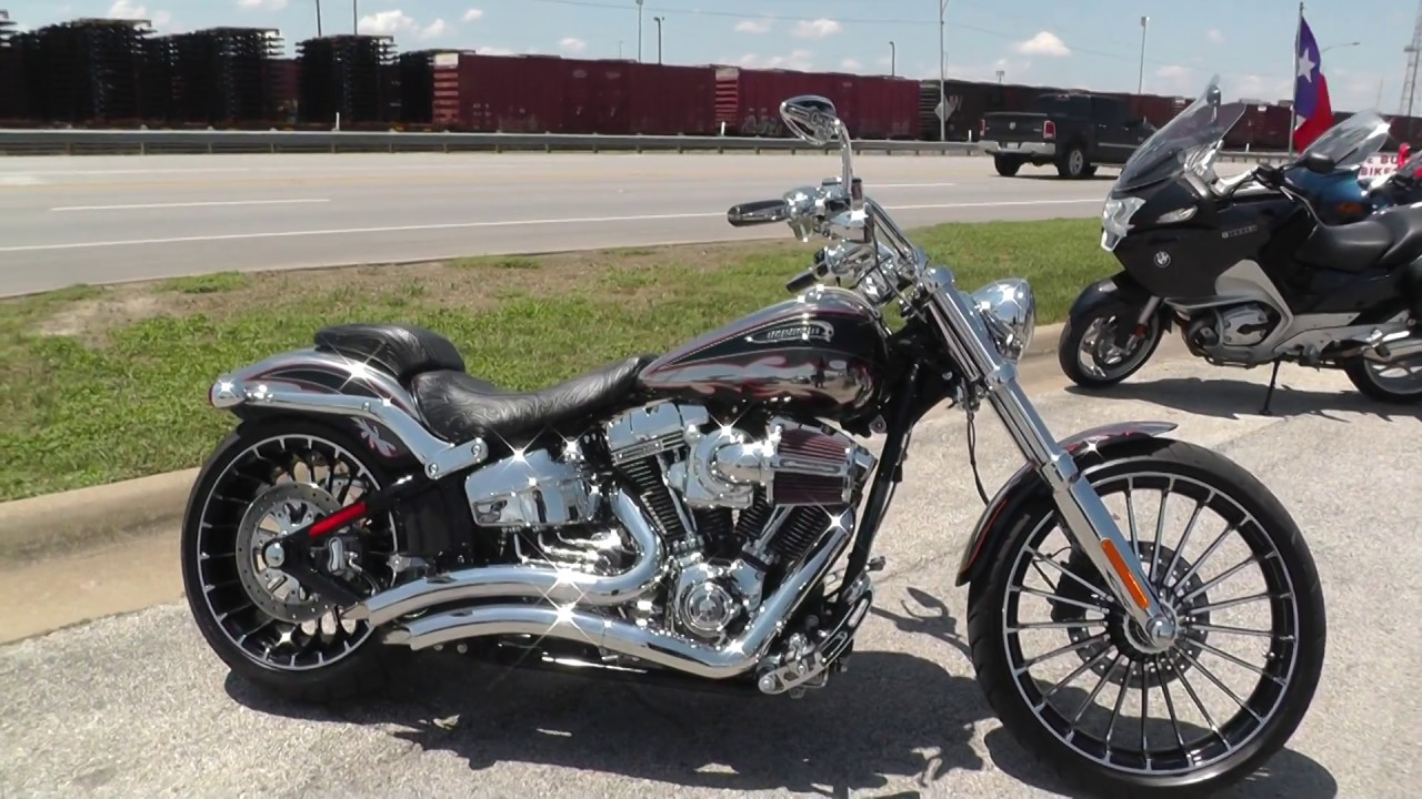 Harley Breakout Cvo >> 960922 2014 Harley Davidson Cvo Softail Breakout Fxsbse Used Motorcycles For Sale