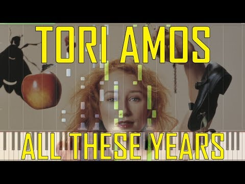 Tori Amos Silent All These Years Piano Tutorial Chords How To