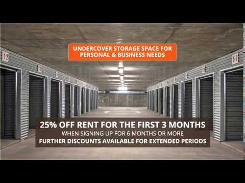 iStore Self Storage Darwin Commercial Ad