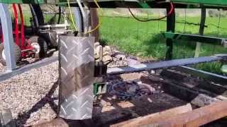 Homemade chainsaw mill. Part 6 of 6