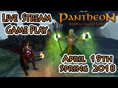 Pantheon Rise of The Fallen | Live Stream with Lassiz | April 19th 2018