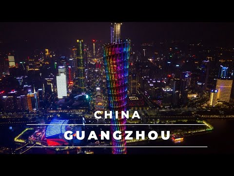 Guangzhou China in 4k | Aerial views of Guangzhou skyline day/night – Travel China