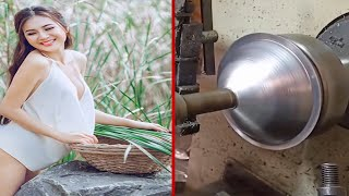 Fastest Workers Doing Their Job Perfectly #6! Most Satisfying Factory Machines and Ingenious Tools.