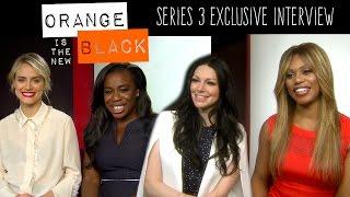 Orange Is The New Black Season 3 - Cast Interview