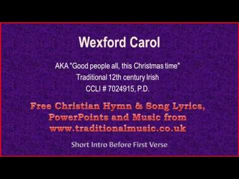 Wexford Carol - Christmas Carols Lyrics & Music
