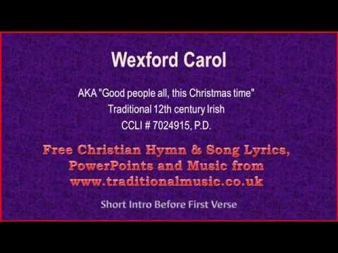 Wexford Carol - Christmas Carols Lyrics & Music