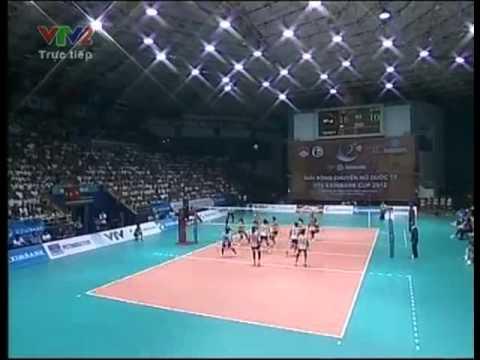 set2 Viet Nam vs IBK Korea VTV Cup 2012