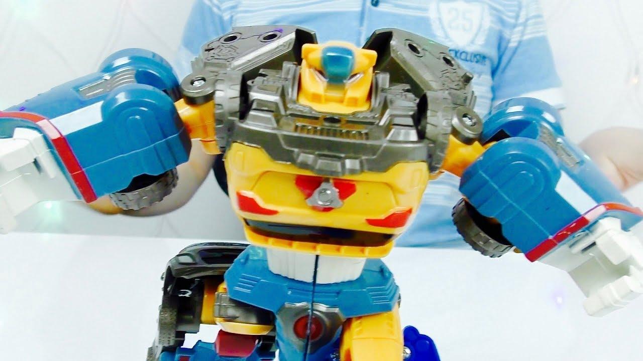Трансформеры Автоботы и  Новый ТОБОТ Видео про Машинки Игрушки из мультика Для детей