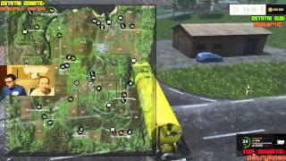 LIVE - Gabi i Swiatek6 - Farming Simulator 15, ETS2 - 06.03.2015