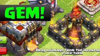 CLASH OF CLANS BUYING UPDATE GEMMING MAX LVL 7 Goblins in clash of clans