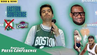 BOSTON CELTICS VS CLEVELAND CAVALIERS - 2018 NBA PLAYOFFS | Postgame Press Conference