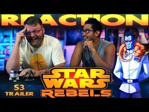 Star Wars Rebels Season 3 Trailer REACTION!!