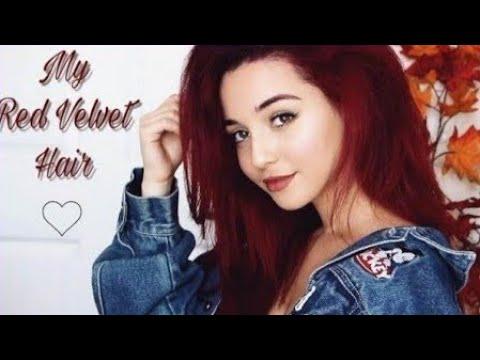 Perfect Red Velvet Hair Dye Tutorial