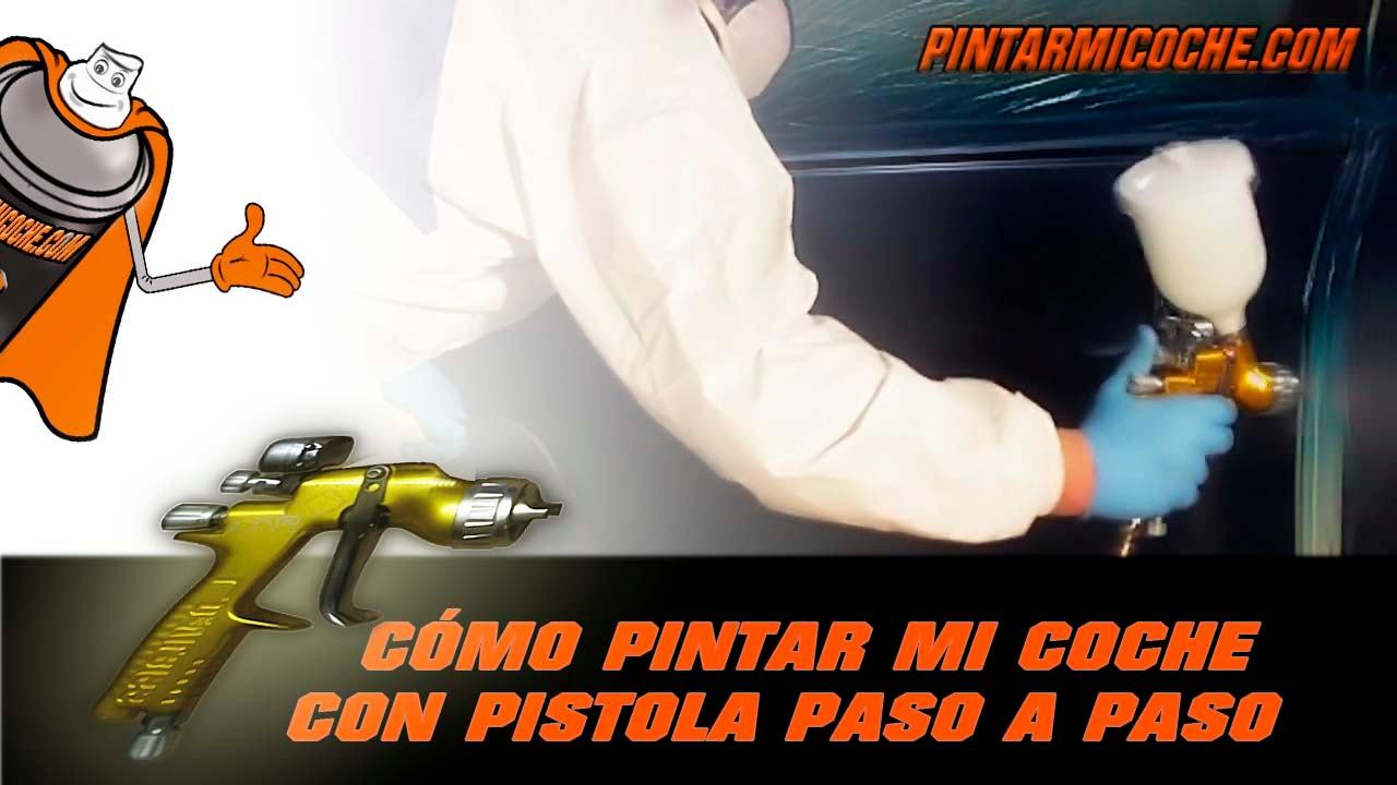 Como pintar mi coche con pistola paso a paso youtube - Pintar con acrilicos paso a paso ...
