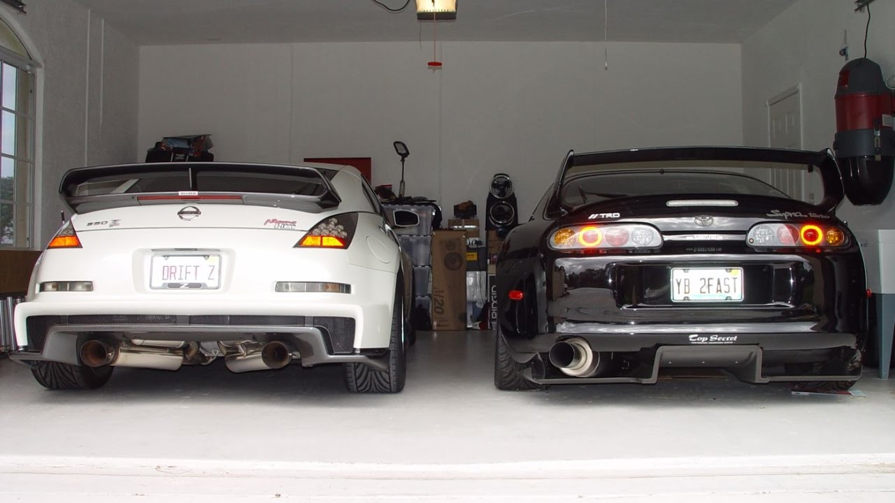 NISSAN 350Z TURBO VQ35HR/VQ35DE BEST OF (PART 1)