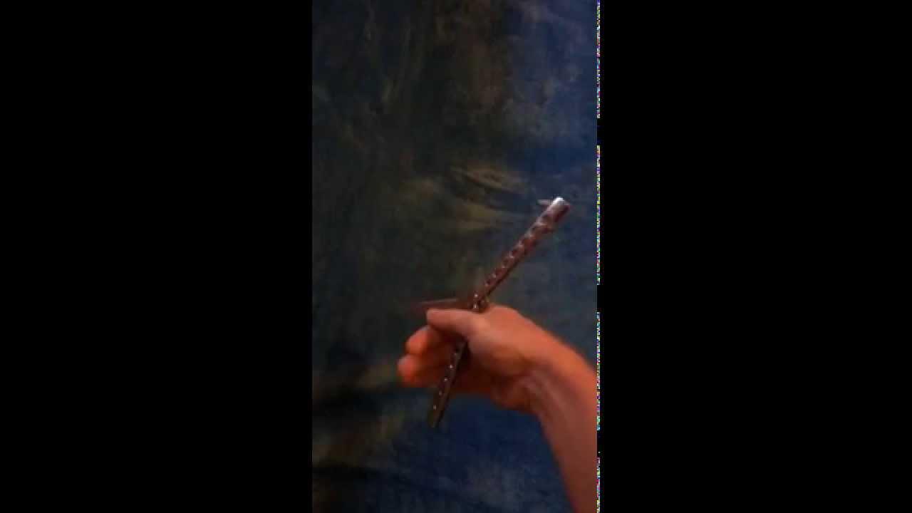 balisong tricks meet the spyro