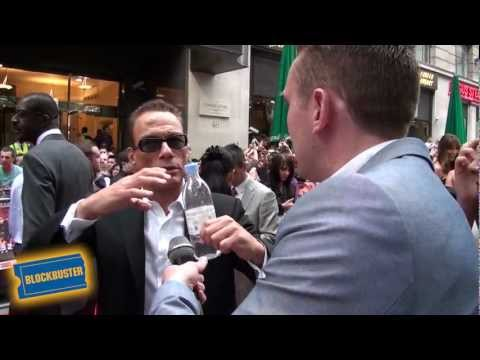 The Expendables 2 Premiere - Jean-Claude Van Damme Interview