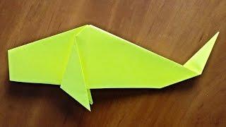 Оригами рыбка Как сделать рыбку из бумаги / Origami fish