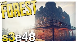 THE CASTLE | The Forest Gameplay S3E48 (Alpha v0.47)