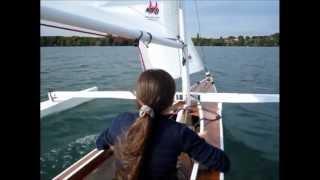 TRIKA 540 Sailing Kayak Trimaran (2)